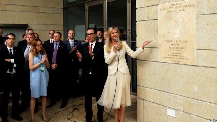 Kedutaan Besar Amerika Serikat di Yerusalem Resmi Dibuka