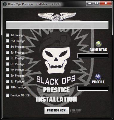 Prestige black ops hack ps