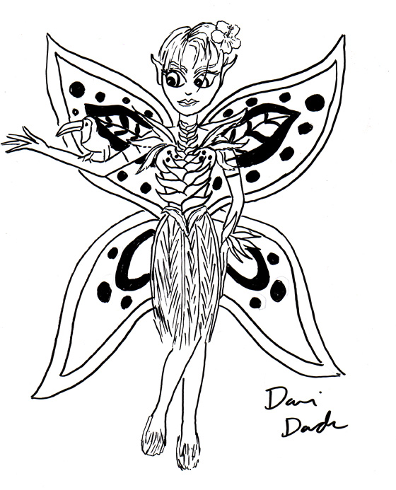 Dani Duck: Artist Obscure: May's Last Doodles!