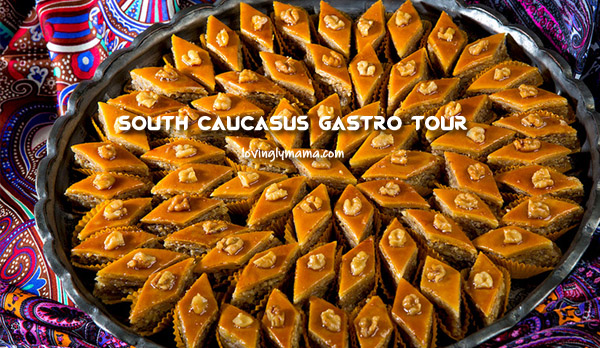 South Caucasus food - pahklava