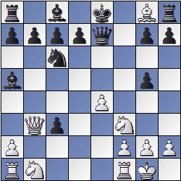 Posición de la partida de ajedrez Sala-Capdevila después de