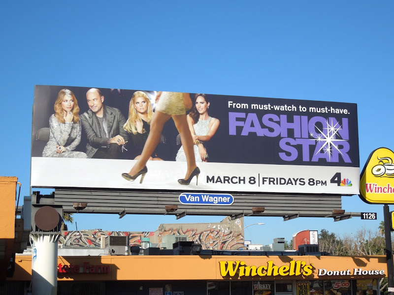 Fashion Star season 2 billboard