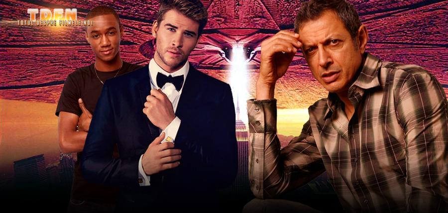 Jeff Goldblum, Liam Hemsworth şi Jessie Usher vor juca în Independence Day 2