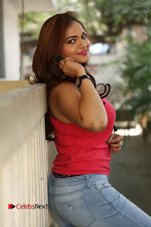 Tollywood Actress Ashwini Latest Stills in Ripped Jeans  0108.JPG
