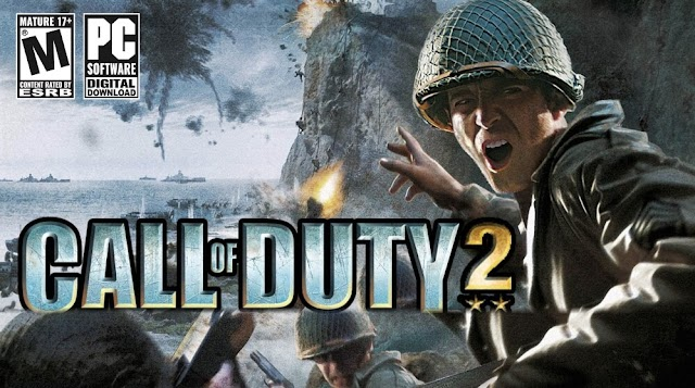 Call of Duty 2 [Updated to v1.3 + English Language] for PC [3.5 GB] Free Download Compressed Repack