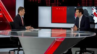 Σάρωσε στην τηλεθέαση: Περισσότεροι από 1.500.000 τηλεθεατές είδαν Τσίπρα και Σρόιτερ