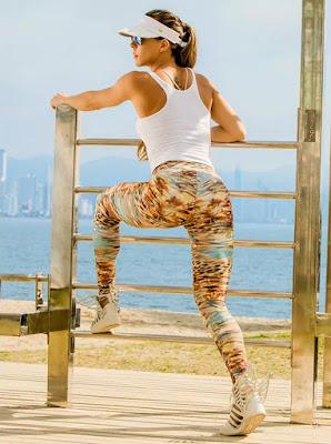 Inspirações de Look com Legging Estampada