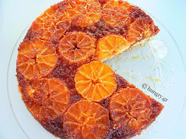 Κέικ με Καραμελωμένα Πορτοκάλια