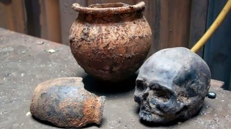 Archaeological finds from Crossrail digs on show in London