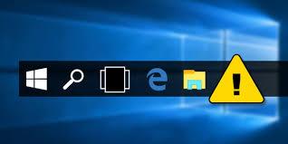Secara default Windows menyertakan aplikasi toolbar desktop khusus yang disebut taskbar y Cara mengubah lebar tombol taskbar Windows 10, 8, dan 7