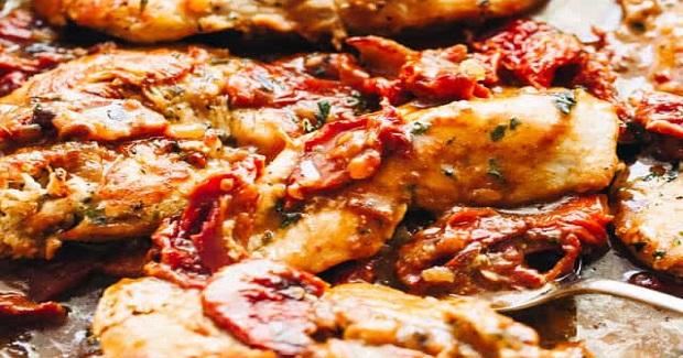Creamy Sun-Dried Tomato Sauce Chicken Recipe