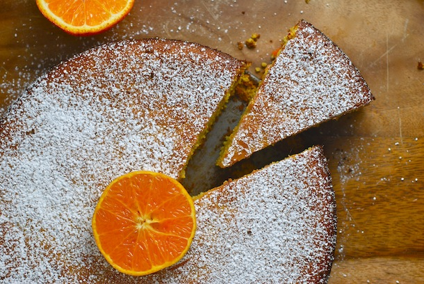Low Carb Flourless Clementine Almond Cake