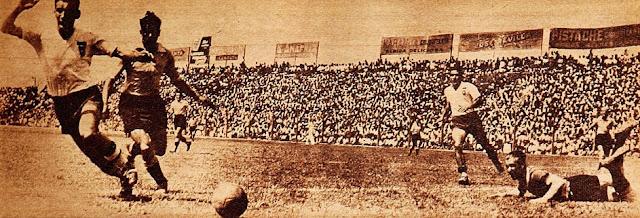 Uruguay y Chile en Campeonato Sudamericano de 1939