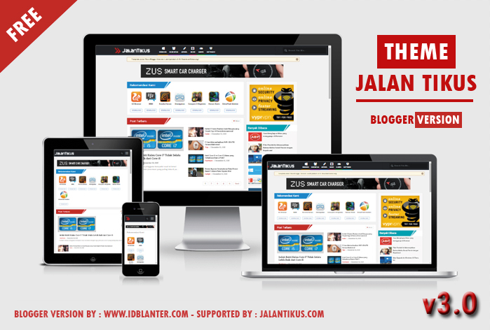 Jalan Tikus Blogger Template