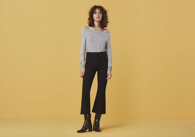 Finery Kirby Kickflare trousers