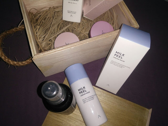 Review Althea Korea Milk Peel Cream Mask