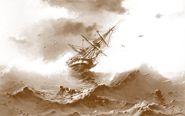 The Loss of the Cataraque 1845