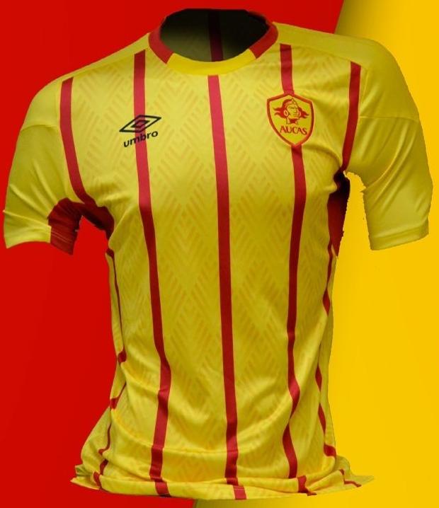 Umbro divulga as novas camisas do Aucas - Show de Camisas cc0d6ab47bc07