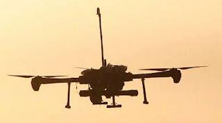 China Uji Coba Drone Mini