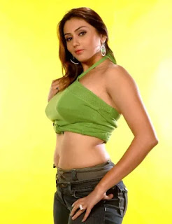 NAMITHA THIGHS AND NAVEL