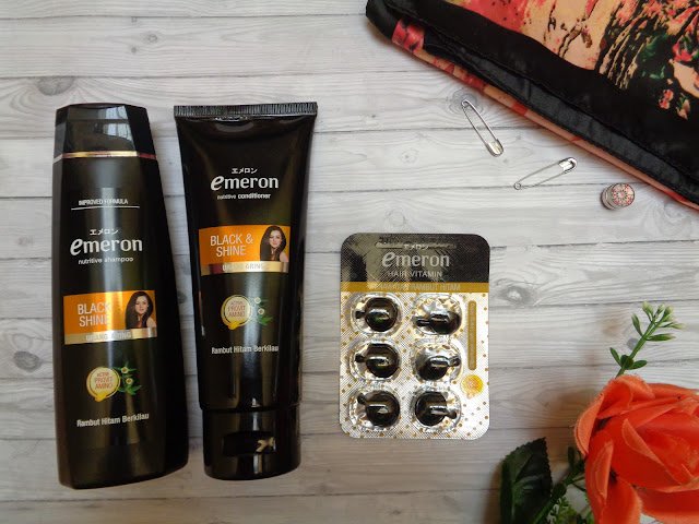 emeron black and shine complete hair care