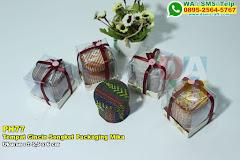 Tempat Cincin Songket Packaging Mika