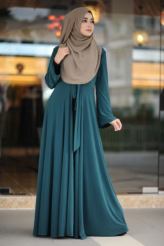 Model Kebaya Terbaru Modern Syar'i Untuk Wanita Muslim Berhijab