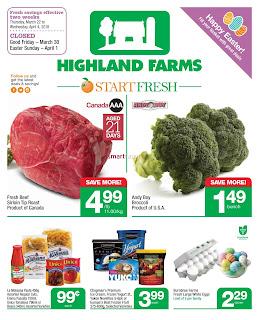 Highland Farms Flyer March 22 – 28, 2018