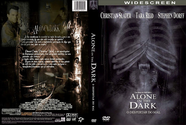 Capa DVD Alone in the Dark: O Despertar do Mal