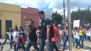 Sexta-feira de protestos em Cuité contra Temer e Reforma da Previdência