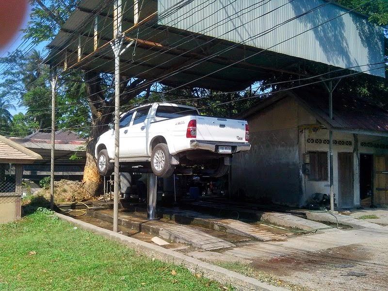 Подъемник для авто Таиланд