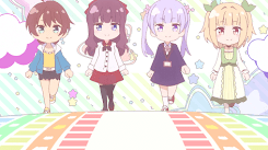 NEW GAME ! - Mouse interaction v2.0 [Wallpaper Engine Anime]
