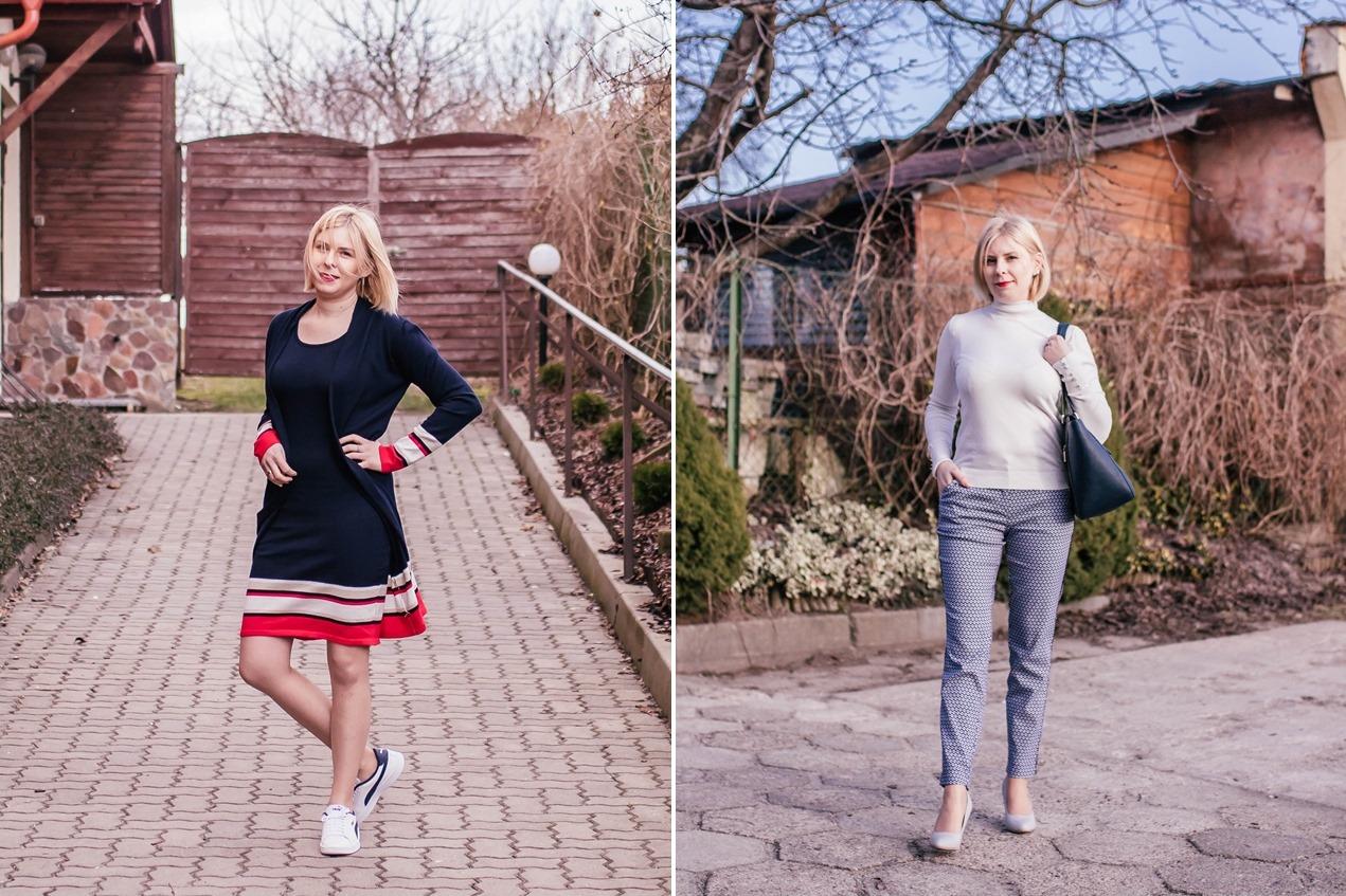 Wiosna z Bonprix - oczekiwania kontra rzeczywistość! {sukienka, kardigan i eleganckie spodnie}