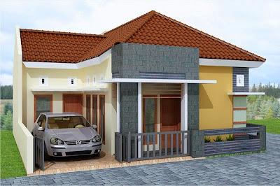 rumah minimalis sederhana 1 lantai | desain rumah