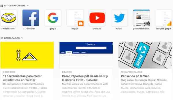 Mozilla Firefox quiere lanzar su propio feed de noticias