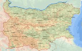 Karti Maps Karta Na Blgariya Map Of Bulgaria