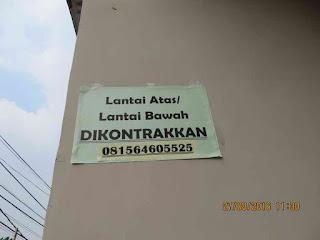 Kontrakan di Bandung