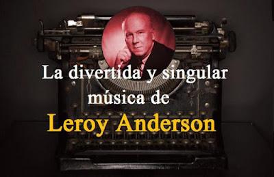 lija papera Leroy Anderson
