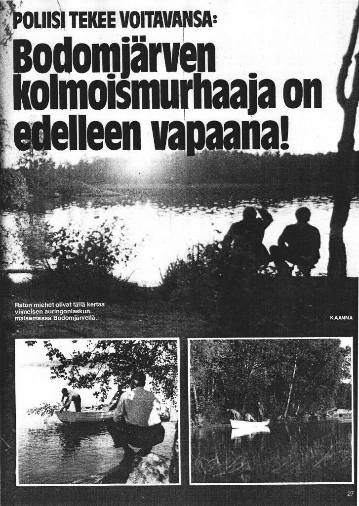 Bodominjärven Murha