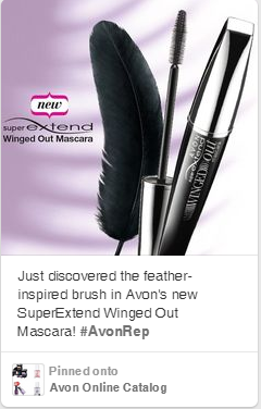 Avon SuperExtend Winged Out Mascara on Pinterest