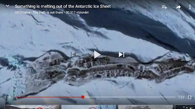 Noi structuri ies la suprafața în Antarctica