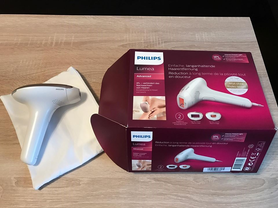 Laser IPL Philips Lumea 1997 Advanced - opinia