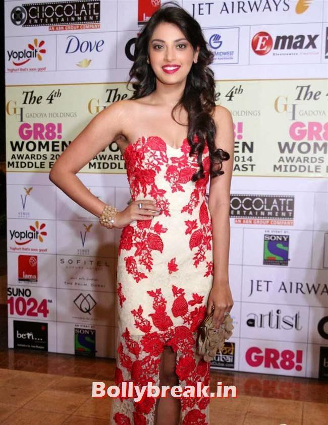 Anushka Ranjan, Shriya, Kangna, Barkha at 4th GR8 Women Awards 2014