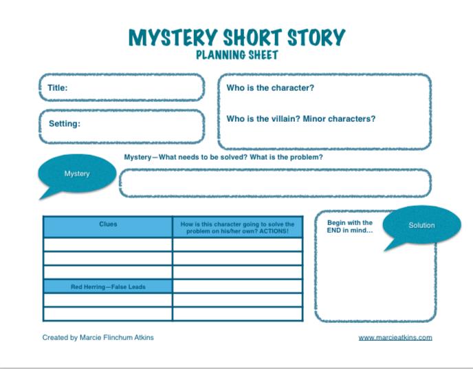 Creative Writing Short Stories Mystery - 20 Mystery Story Ideas