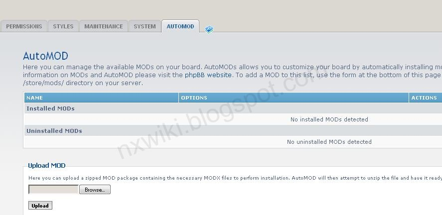 phpBB AutoMOD Step