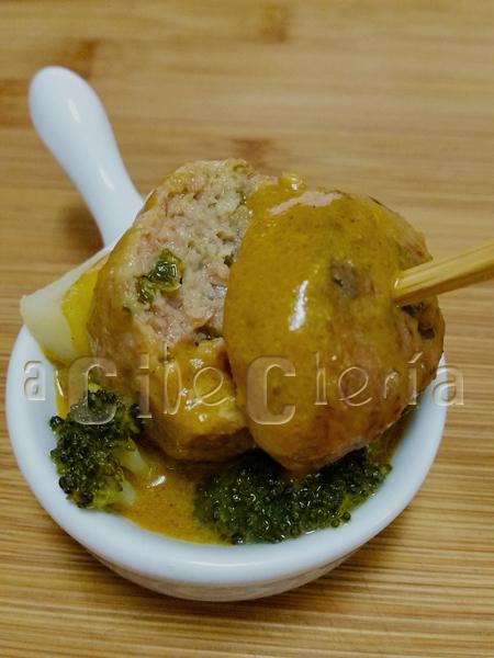 Las mejores albóndigas de lacón con carne de salchichas de cerdo frescas