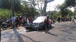Kecelakaan Maut Di Kawedanan Membawa 3 Korban, 1 Tewas