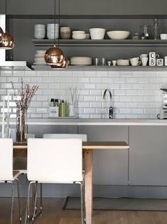 inspirace kuchyň
