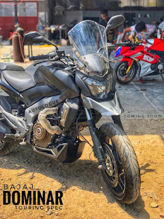 Bajaj Dominar 400 Touring by Autologue Design