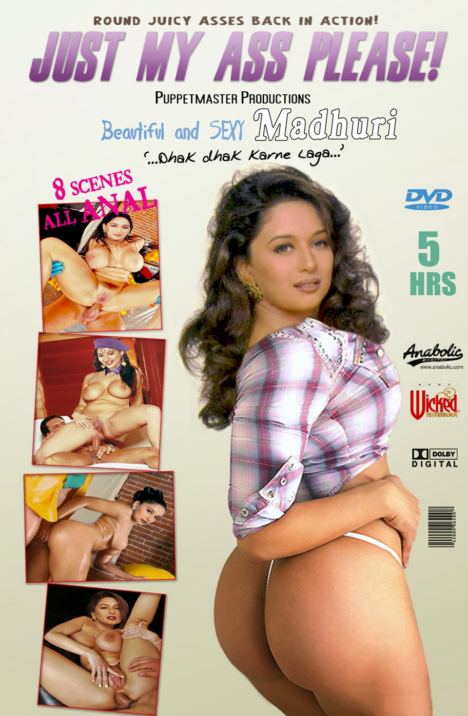 Madhuri Dixit Hot Nude Boobs, Madhuri Dixit Naked Boobs -4827